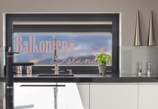 Glasdekor Balkonien Island - Bild 4