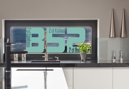 Glasdekor Rezept B52 - Bild 5