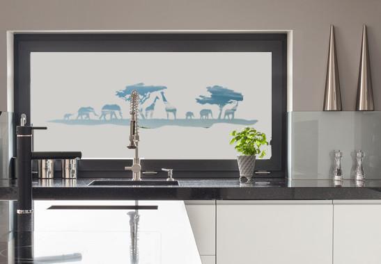 Glasdekor Safari Morgen - Bild 2