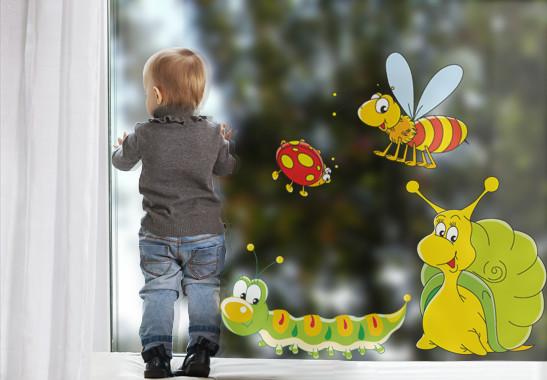 Fenstersticker Wiesenfreunde