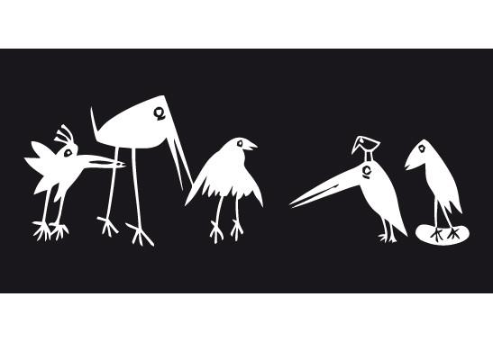 Sichtschutz Verrückte Vögel - Bild 6