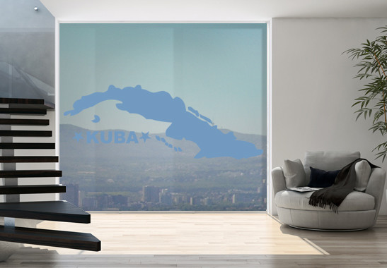 Glasdekor Kuba