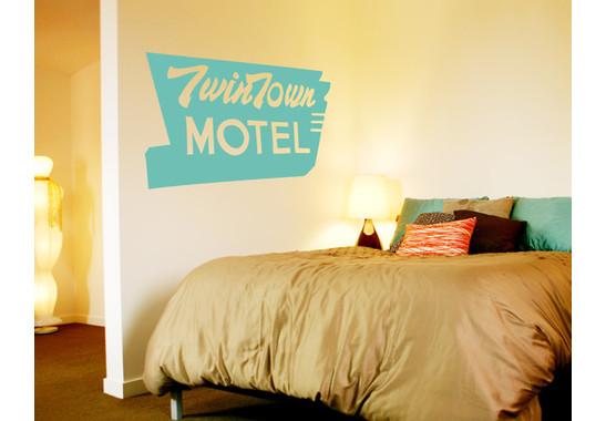 Wandtattoo Twin Town Motel
