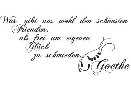 Glasdekor Goethe Zitat - Bild 6
