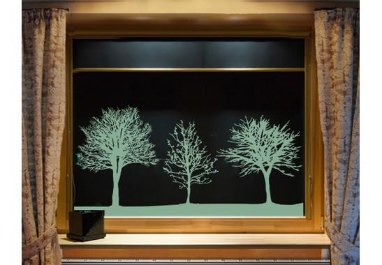 Glasdekor Baumgruppe - Bild 3