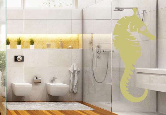 Glasdekor Seepferdchen - Bild 3