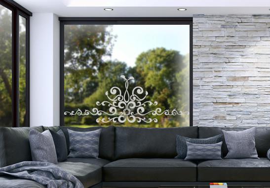 Glasdekor Barocke Verzierung - Bild 2