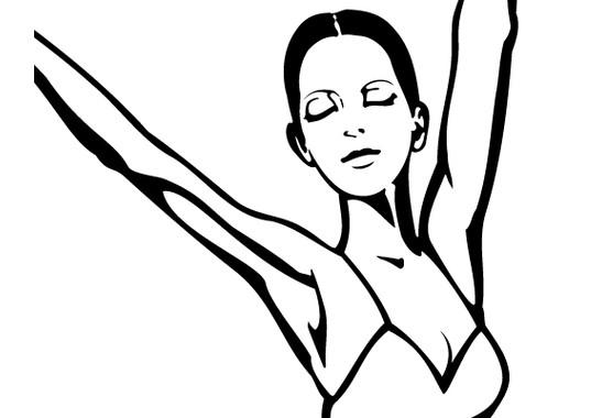Produktdetailansicht - Glasdekor Perfekte Ballerina
