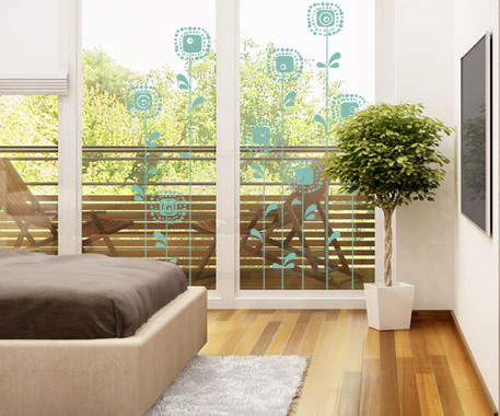 Glasdekor Sonnenblumen - Bild 5