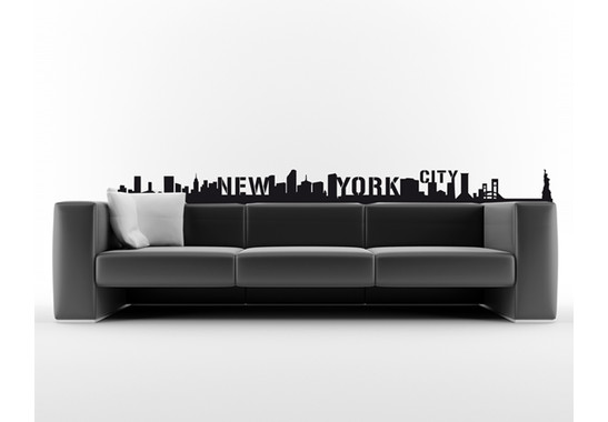 Wandtattoo NewYork Skyline