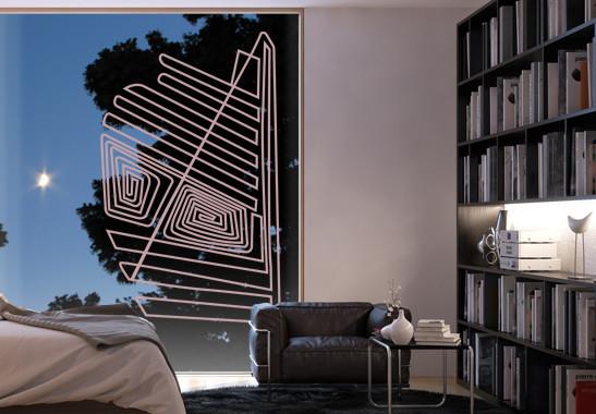 Glasdekor Nazca Linien - Bild 4