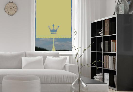 Sichtschutz Prinzessinnen Rollo - Bild 3