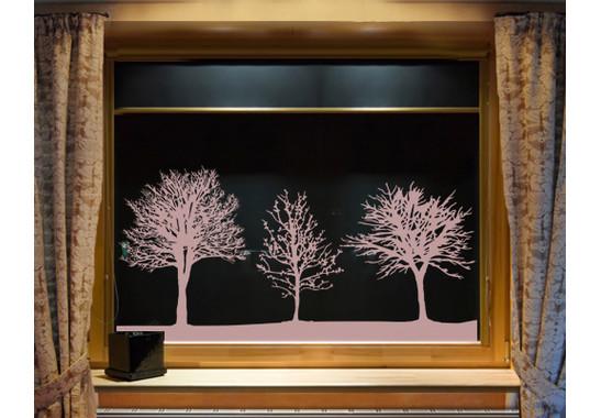 Glasdekor Baumgruppe - Bild 2