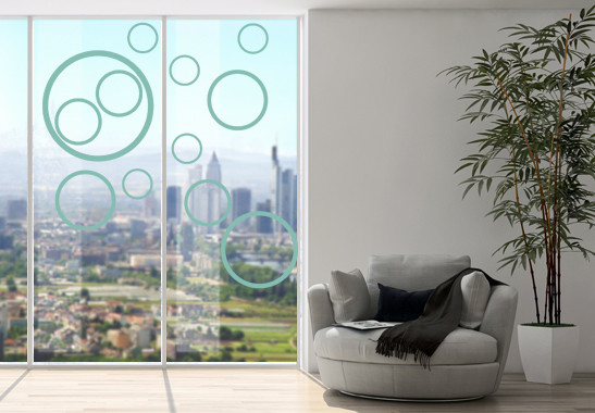 Glasdekor Circles - Bild 5