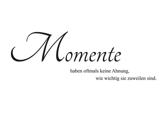 Wandtattoo Momente - Bild 2