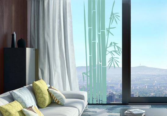 Glasdekor Bambusstrauch - Bild 5