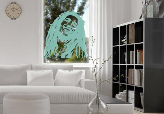 Glasdekor Bob Marley - Bild 5