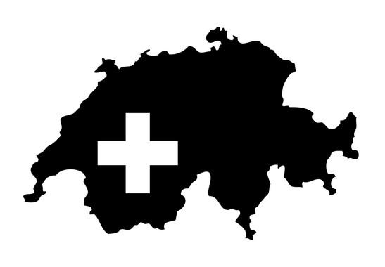 Wandtattoo Schweizer Karte - Bild 2
