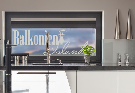 Glasdekor Balkonien Island - Bild 2