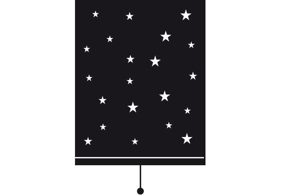 Sichtschutz Nachthimmel Rollo - Bild 6