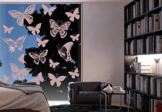 Glasdekor Schmetterlingsfamilie - Bild 4