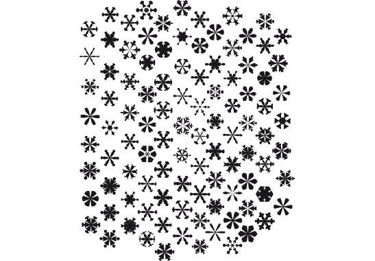 Glasdekor Schneesturm - Bild 6