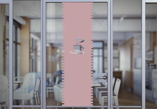 Sichtschutz Café Rollo - Bild 4
