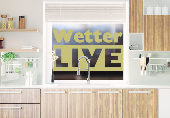 Glasdekor Livewetter - Bild 3