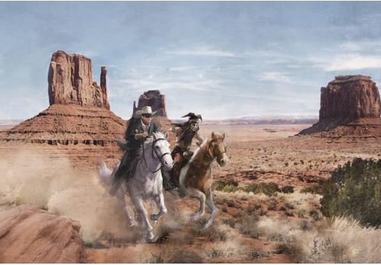 Fototapete Lone Ranger - Bild 2