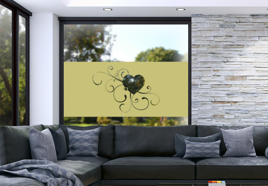 Glasdekor Erblühende Liebe - Bild 3