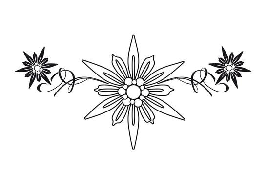 Wandtattoo Edelweisskristall - Bild 2