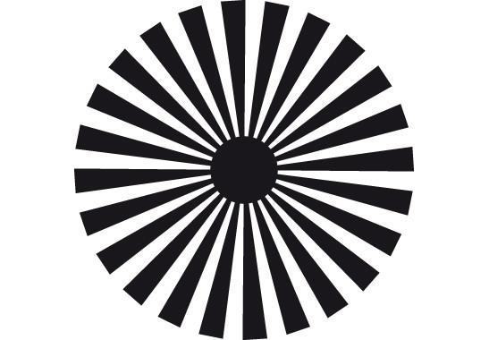 Glasdekor Sonnensymbol - Bild 6