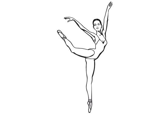 Glasdekor Perfekte Ballerina - Bild 6