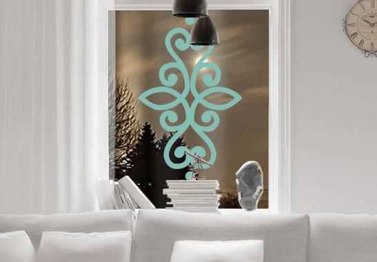 Glasdekor Indisches Ornament - Bild 5