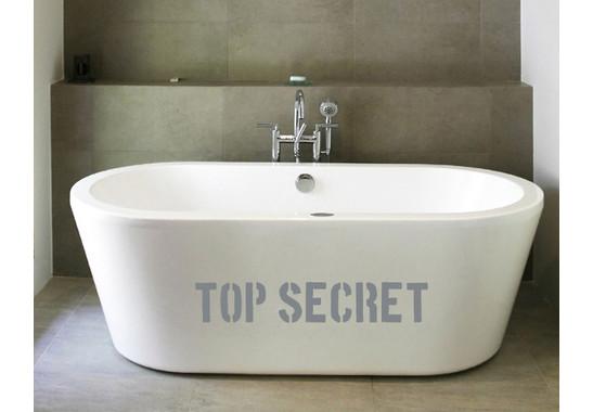 Wandtattoo Top Secret
