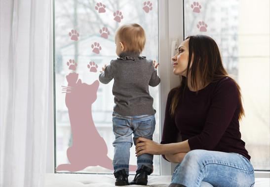 Glasdekor Freches Kätzchen - Bild 4