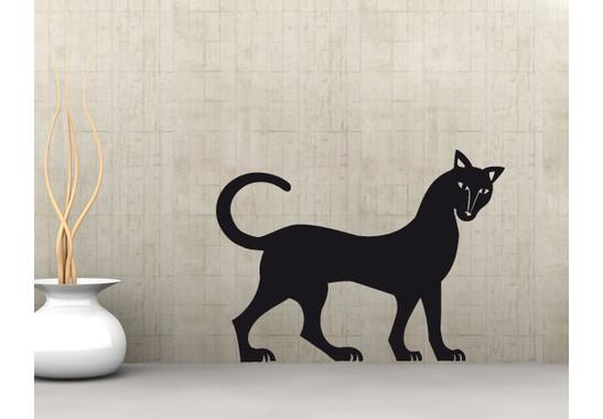 Wandtattoo Mystery Cat
