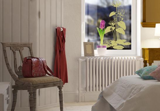 Glasdekor Herbstbäumchen - Bild 3