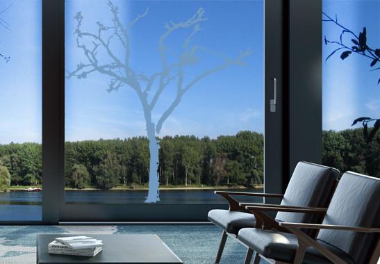 Glasdekor Winterbaum - Bild 2