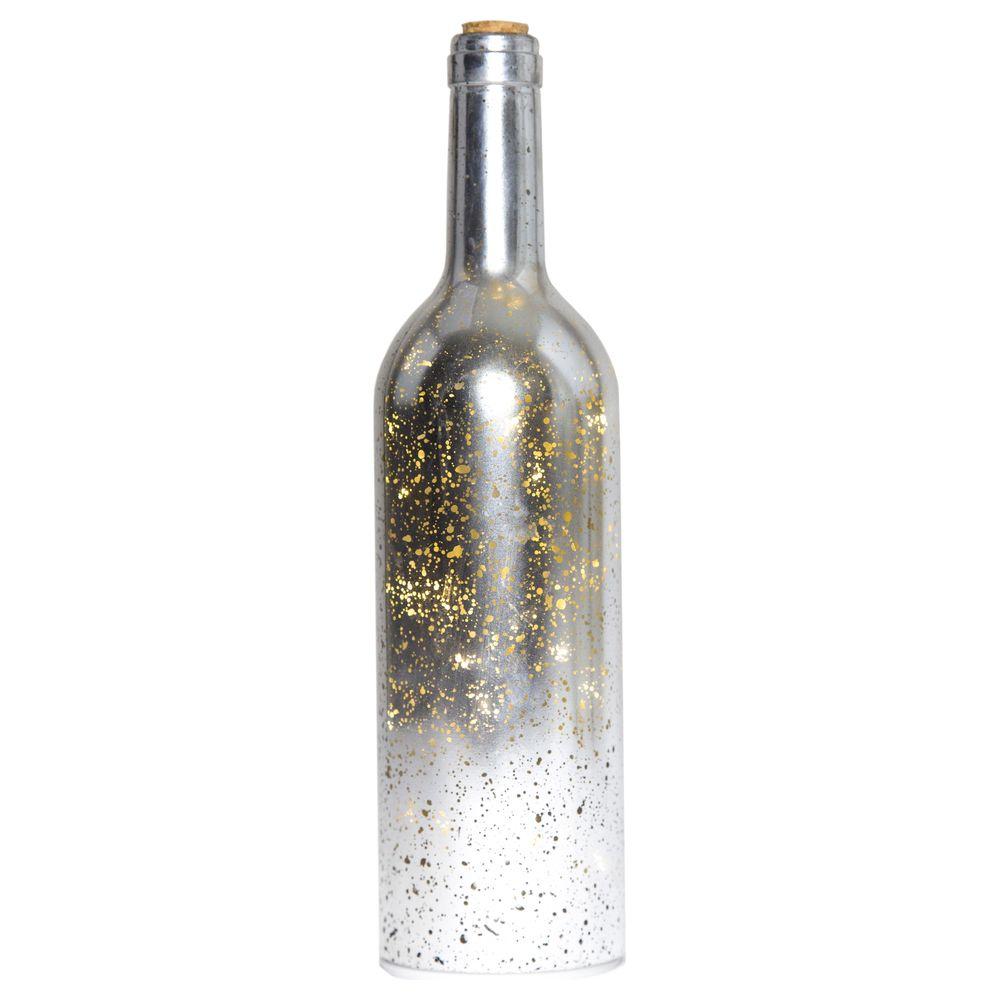 LED Dekoleuchte in Silber 305x80mm