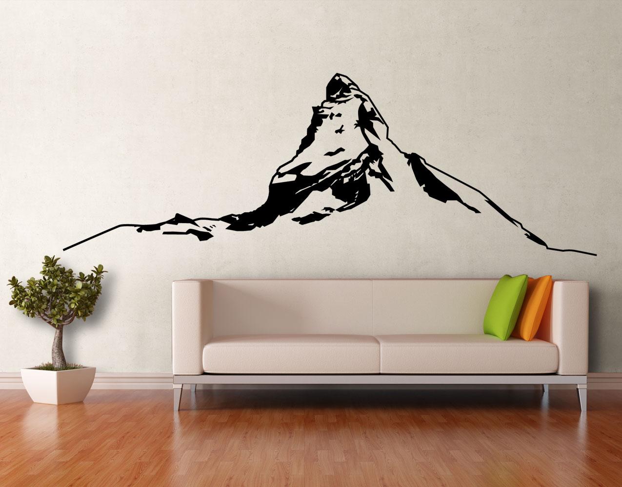 Wandtattoo Matterhorn