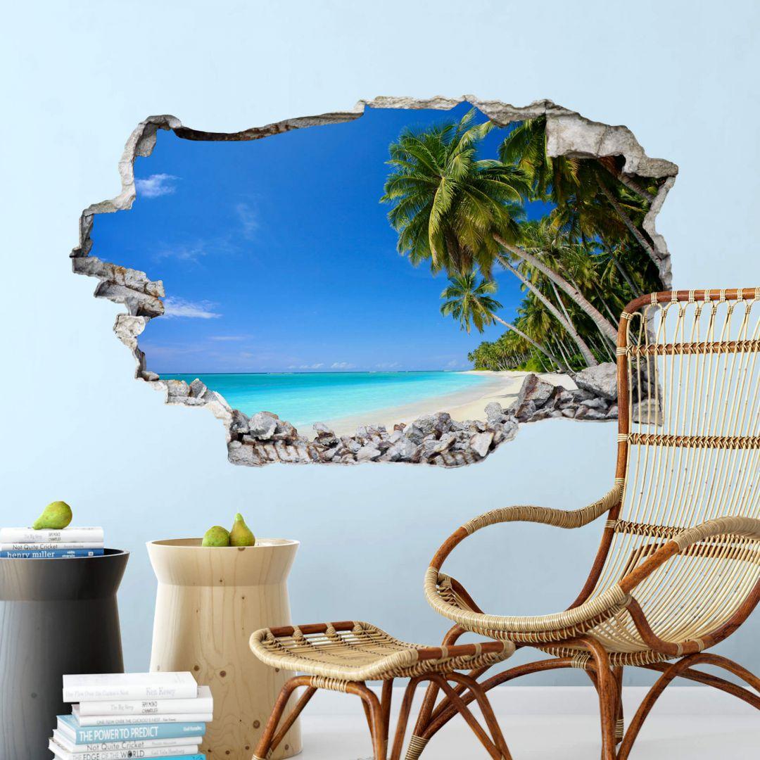 3D Wandtattoo Paradise