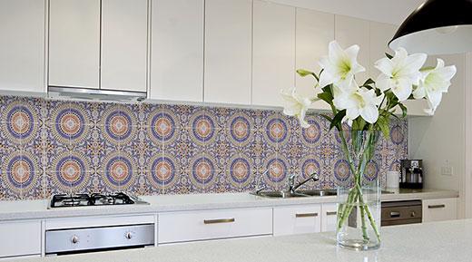 Fliesenaufkleber Einfach Aufkleben Trenddekoch - Küchenboden fliesen überkleben