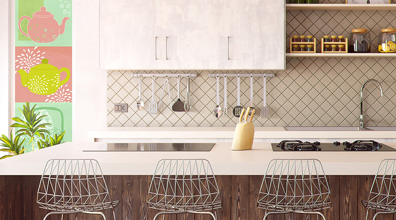 Küchentapete - Die Tapete für Ihre Küche von trenddeko
