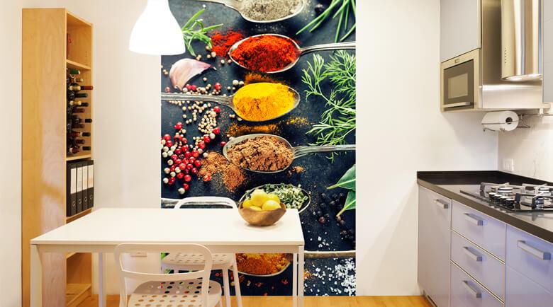 Charmant Tapeten Für Die Küche