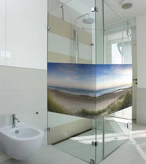Wirkungsvoller Sichtschutz Mit Glasdekorfolie