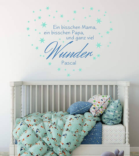 kinderzimmer wandtattoos wandsticker bei. Black Bedroom Furniture Sets. Home Design Ideas