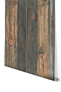 Mustertapeten A.S. Création Tapete Wood'n Stone Beige, Braun