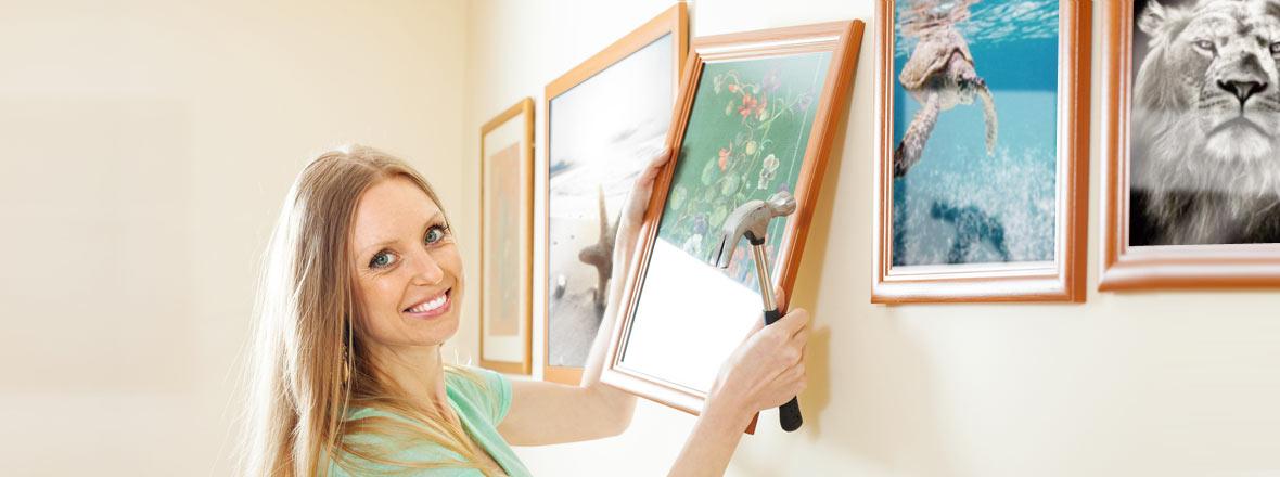 Wandbilder in Hülle und Fülle