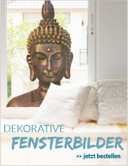 dekorative Fensterbilder